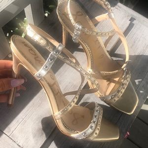 Sam Edelman strapy with studs heels